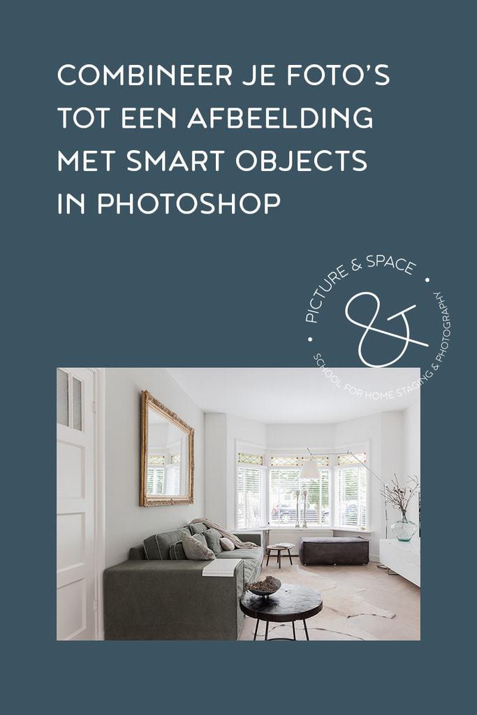 Combineer je foto's tot een afbeelding met Smart Objects. Een korte Photoshop tutorial, 't is niet moeilijk en zorgt voor een enorme tijdsbesparing!