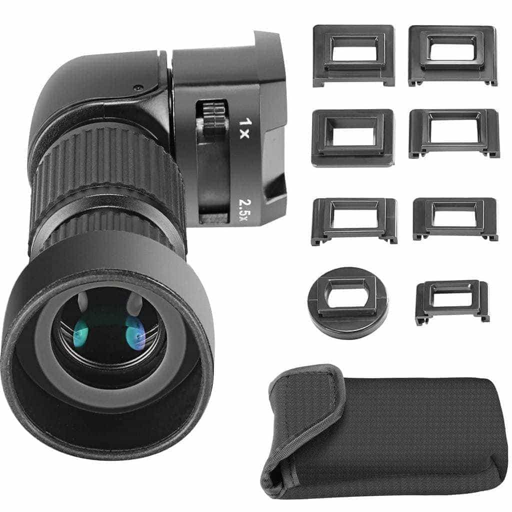 Universal angle viewfinder
