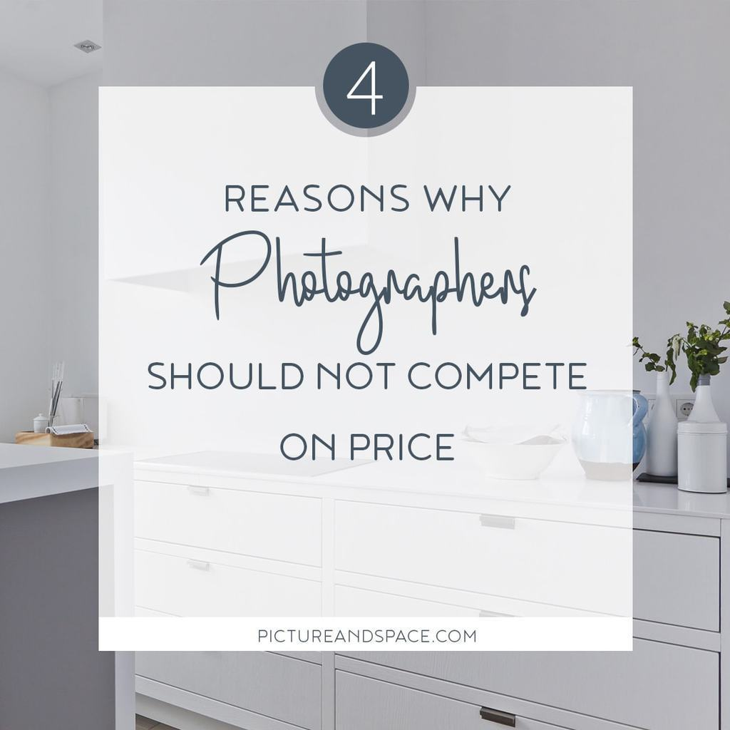 4 Reasons why you should never compete on price