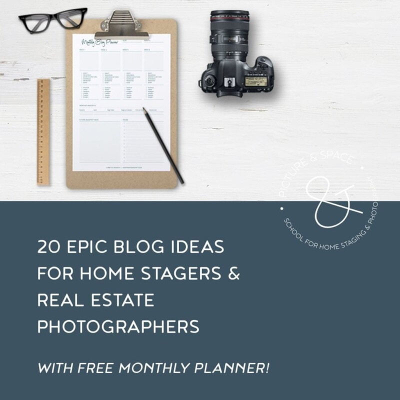 20 epic blog ideas for home stagers & real estate photographers