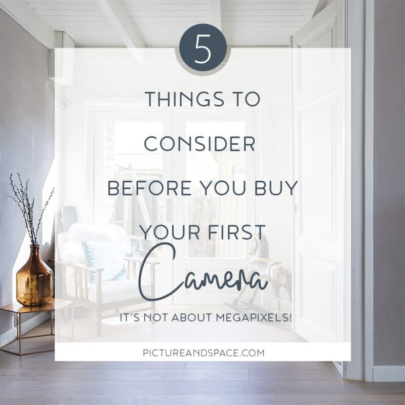 THINGS TO CONSIDER BEFORE YOU BUY YOUR CAMERA