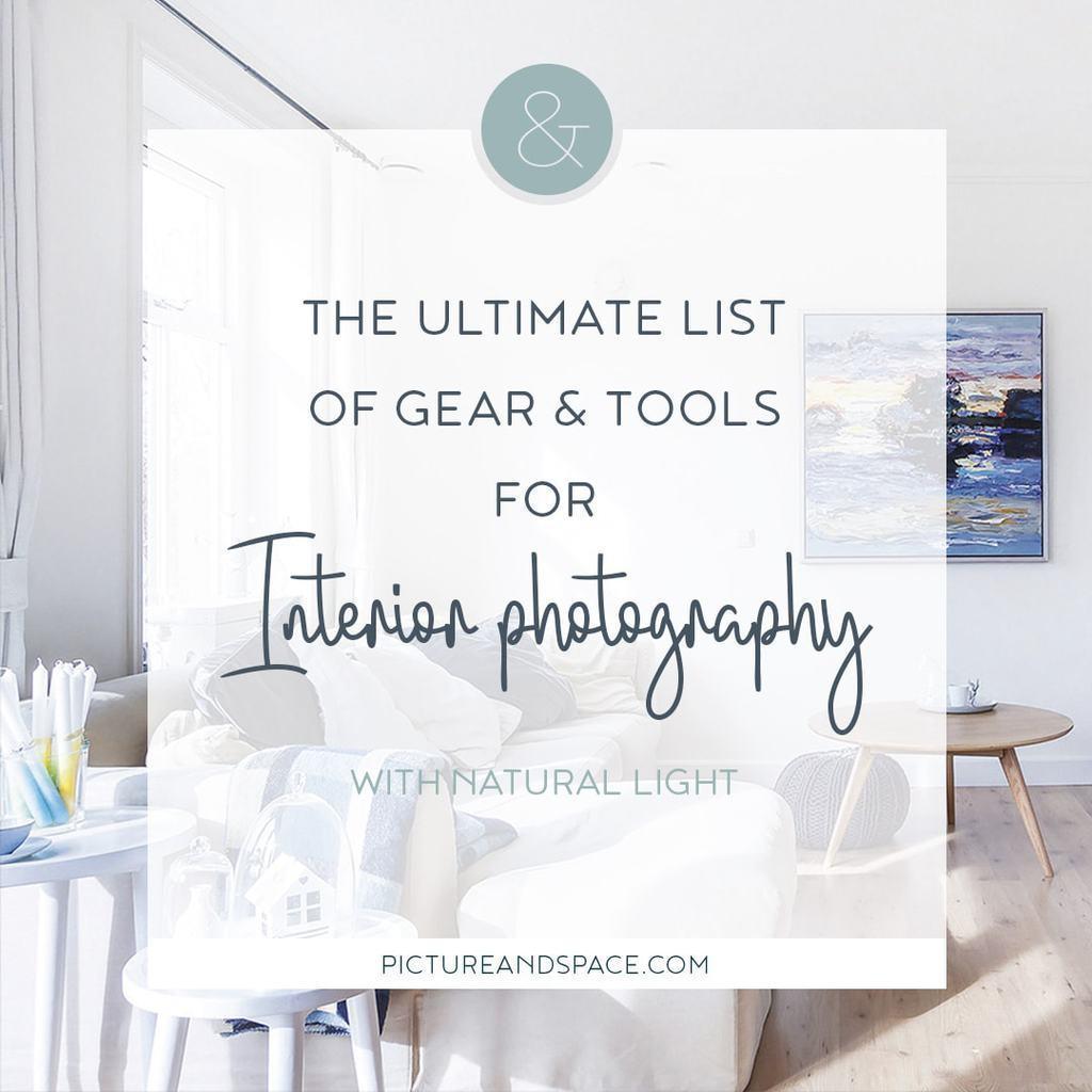 Tools & Gear Interior Photography