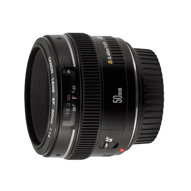 Canon EF 50, F1.4 USM Lens