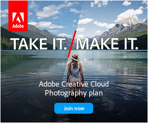 Adobe CC Photography Plan