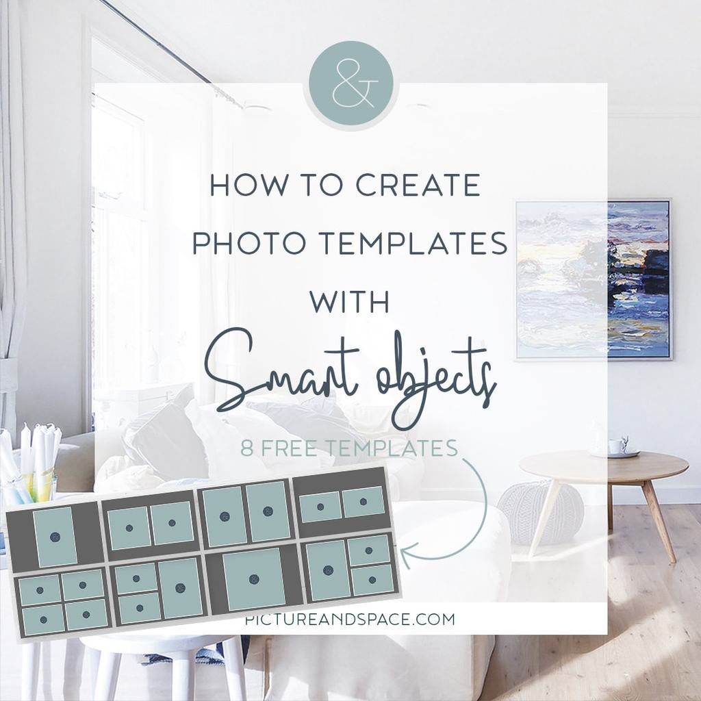 How to create templates with smart objects