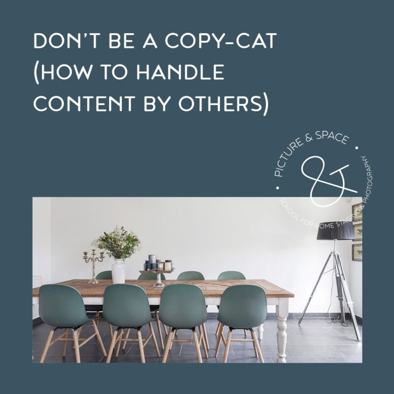 Don't be a copy-cat, how to handle content by others