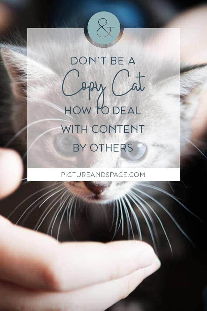 Don't be a copycat - how I dealt with copyright infringements and what you can do about it.