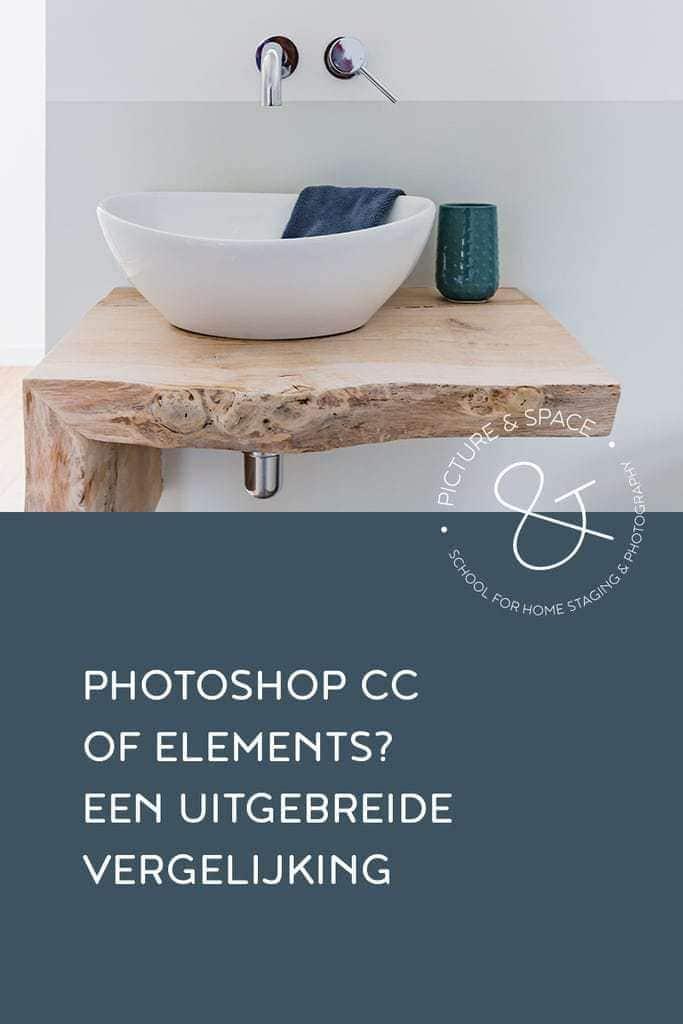 Photoshop CC of Elements? Een uitgebreide vergelijking voor Vastgoedfotografen.