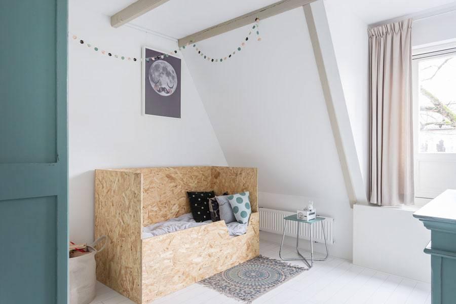 Children's bedroom, real estate photography for Margit Nijboer.