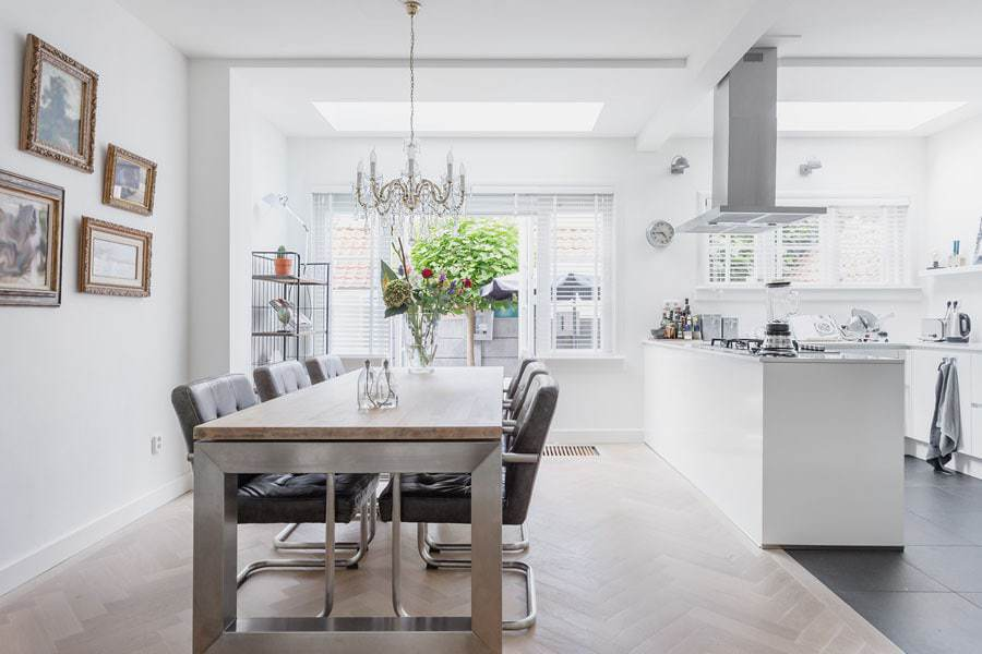 kitchen photography with natural light only