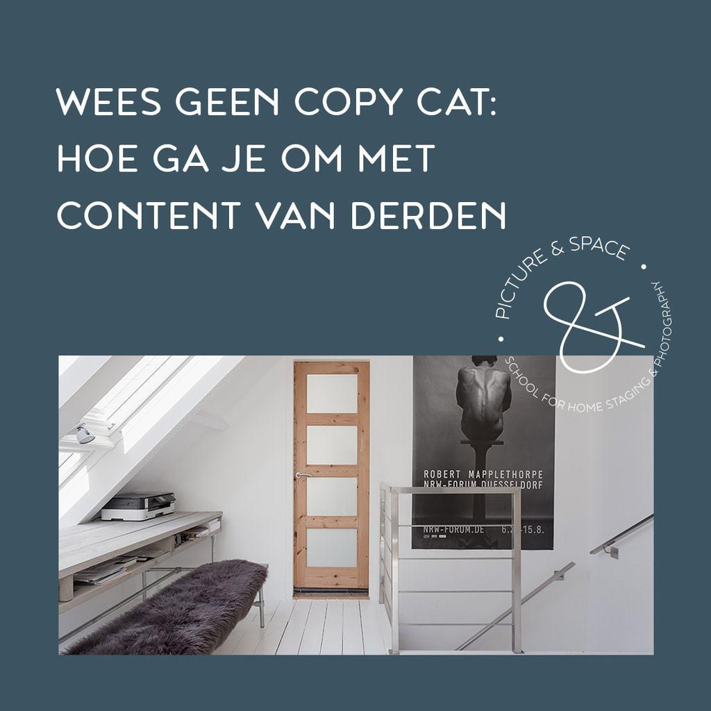 Wees geen copy-cat hoe ga je om met content van derden