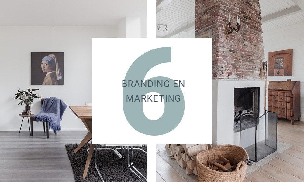 Branding & Marketing voor vastgoedstylisten en vastgoedfotografen