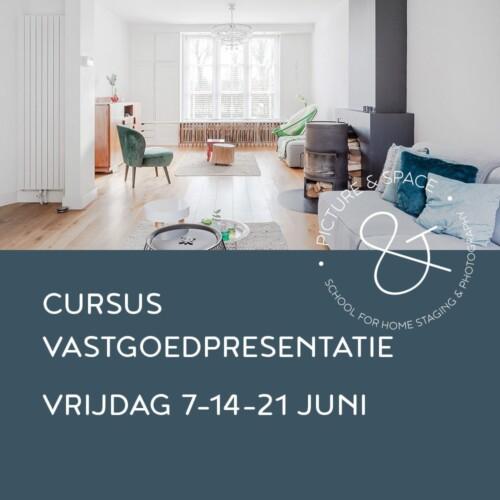 Cursus Vastgoedpresentatie juni 2019