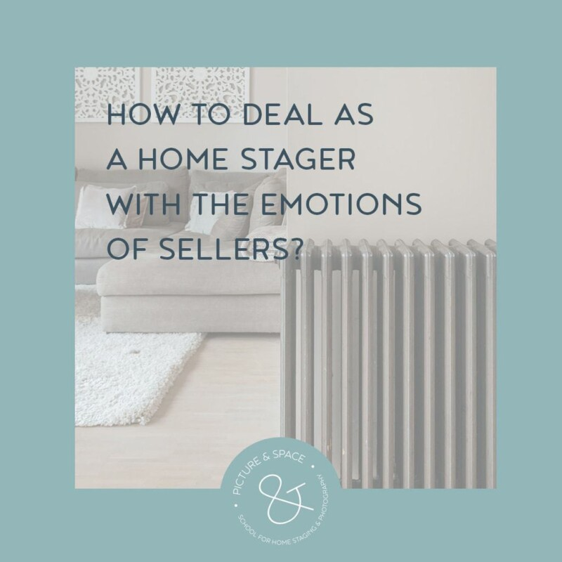 How to deal with the emotions of sellers as a Home Stager?