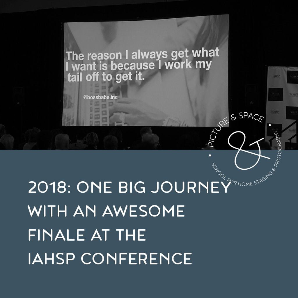 2018: One big journey with an awesome finale at the IAHSP conference