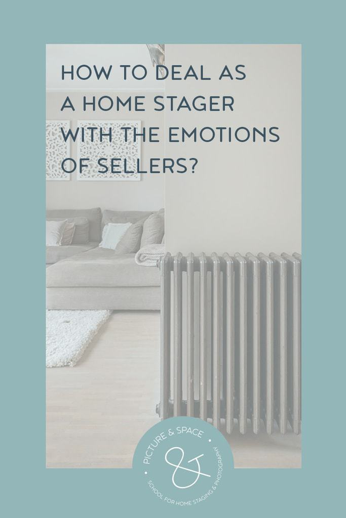 How to deal as a Home Stager with the emotions of sellers? As a Home Stager, you work with the emotions of buyers to present properties as attractive as possible. But, how do you deal with the feelings of the sellers?