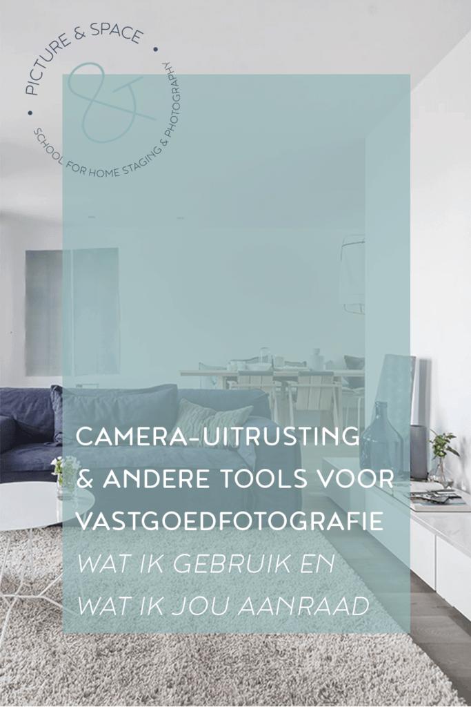 Camera-uitrusting & andere tools voor vastgoedfotografie