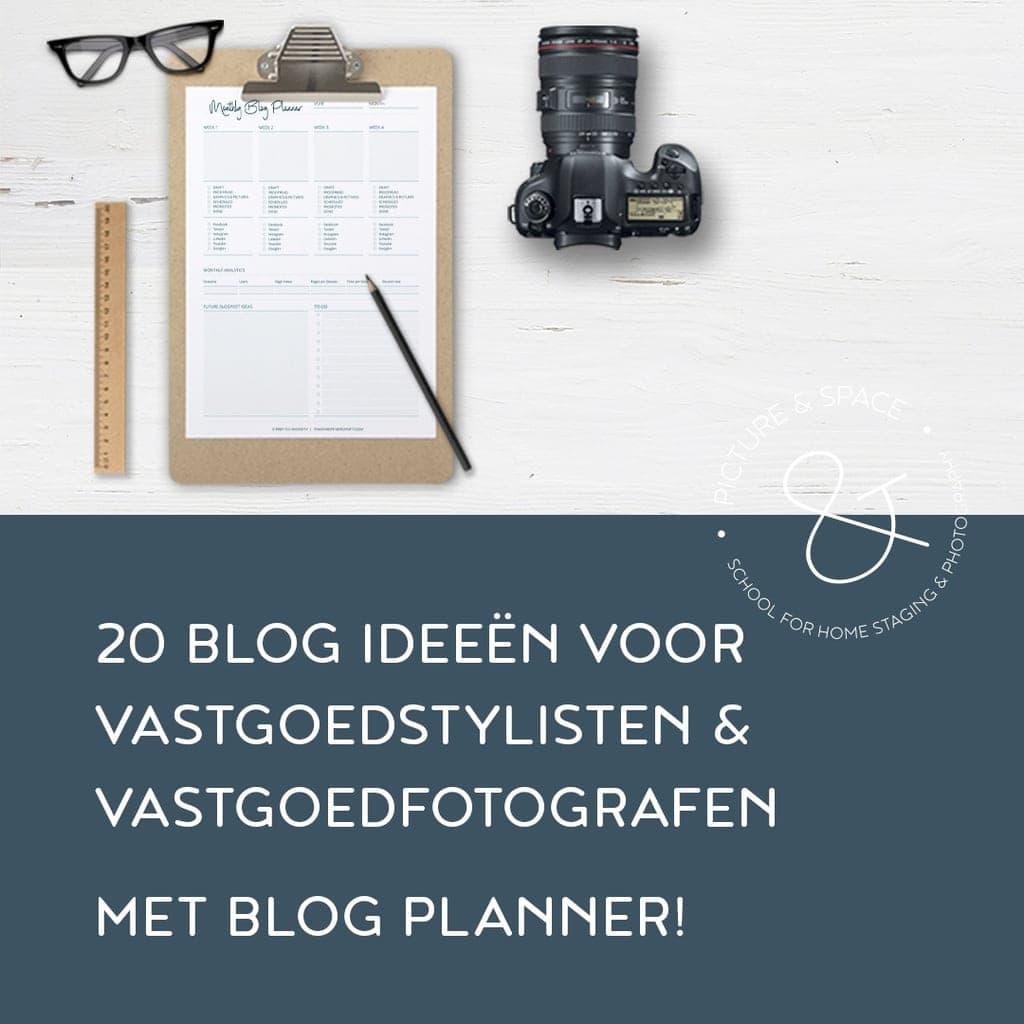 20 Blog Ideeën voor Vastgoedstylisten en Vastgoedfotografen